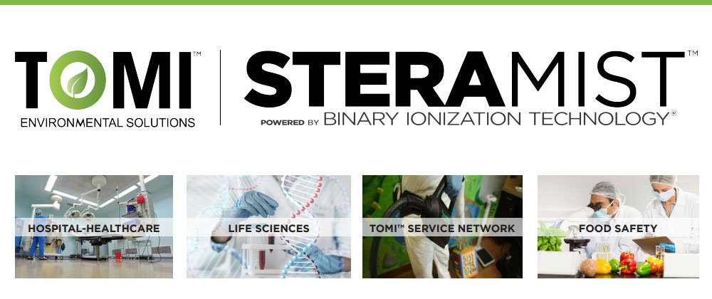 SteraMist Global Disinfection Areas